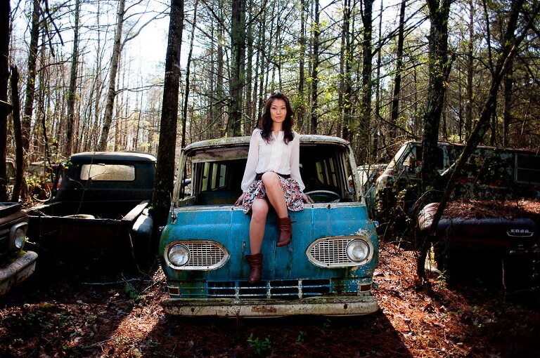 Woodstock, Georgia high school senior in Atlanta junkyard
