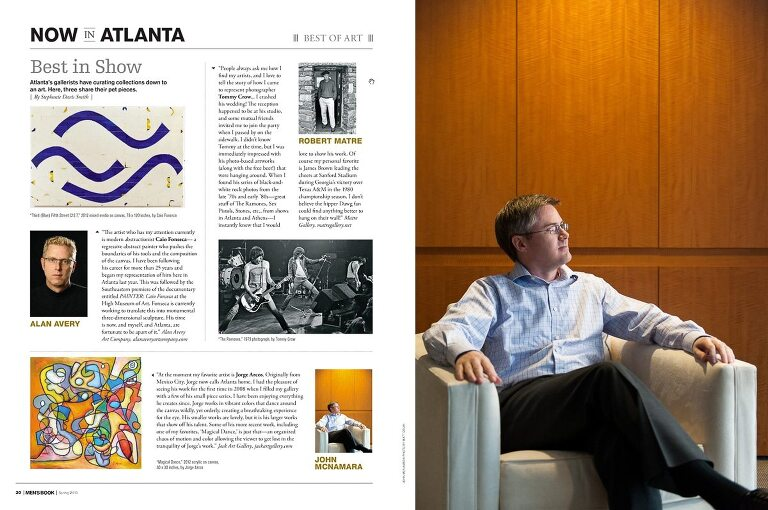 John McNamara Best Of Art For Men's Book Spring 2013
