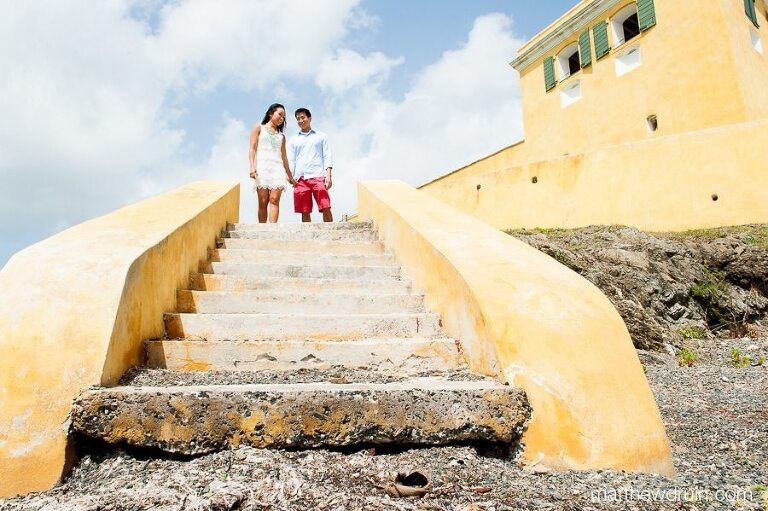 Engagement session in St. Croix, Virgin Islands from Atlanta wedding photographer Matthew Druin