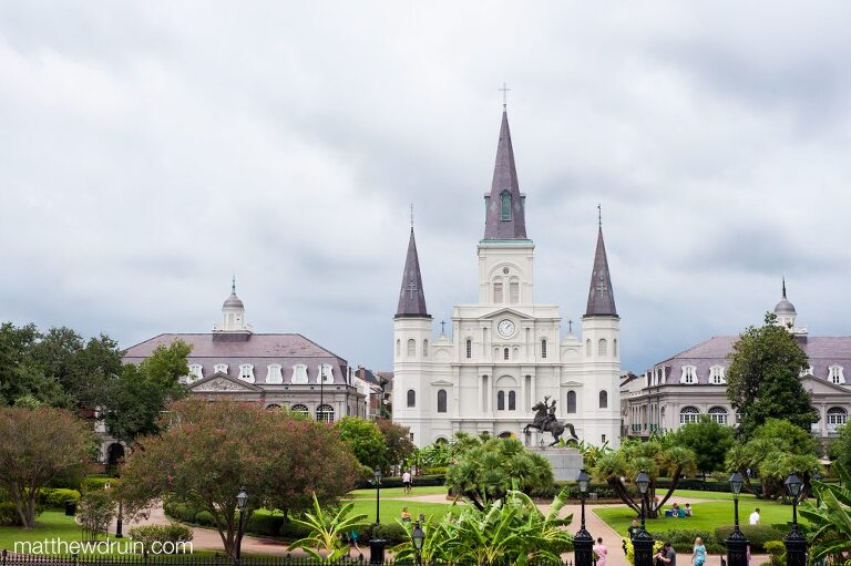St. Louis Cathedral Jackson Square New Orleans matthewdruin.com
