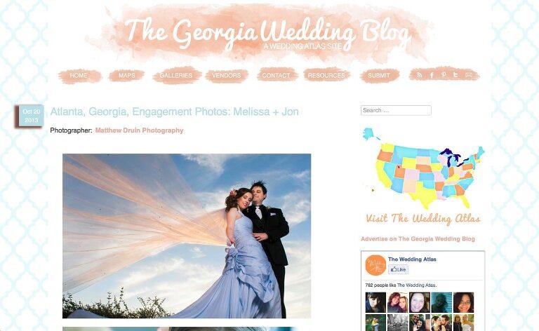 Featured In: The Wedding Atlas Atlanta Georgia Wedding