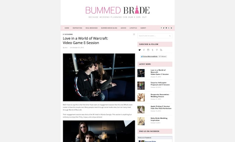 Featured In: Bummed Bride An Atlanta W Hotel Engagement