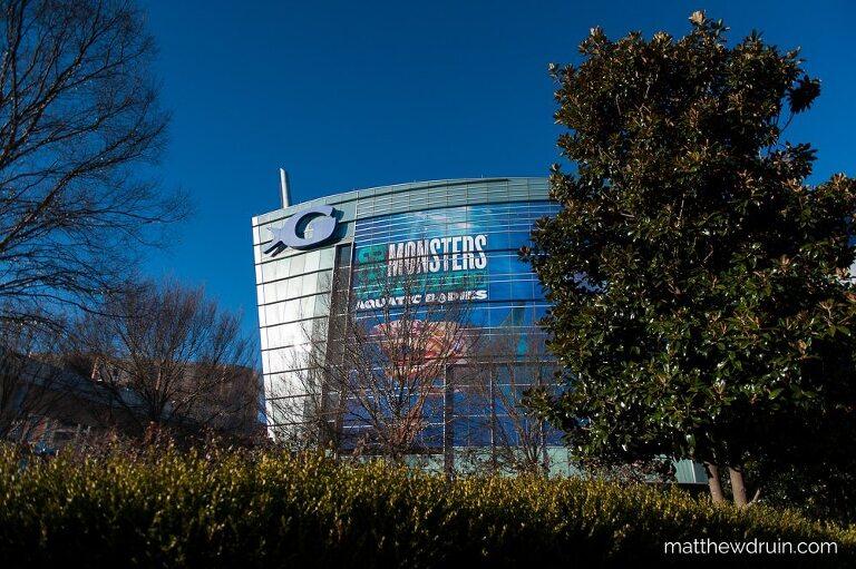Georgia Aquarium building during Georgia Aquarium engagement