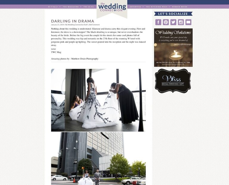 Featured In: Wedding Connection W Hotel Wedding Atlanta