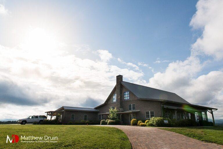 Barn house at Chattooga Belle Farm wedding