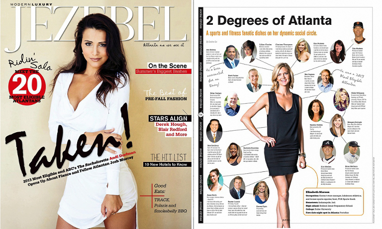 Elizabeth Moreau Fox Sports Reporter For Jezebel Magazine Atlanta