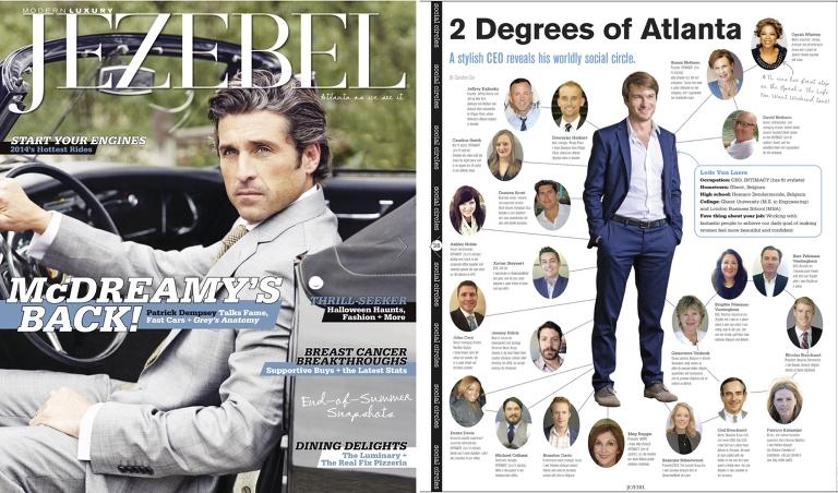 Intimacy Atlanta CEO, Lode Van Laere, photographed for Jezebel Magazine fall issue from Atlanta portrait photographer Matt Druin.