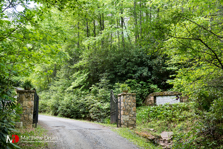 Gated Entrance to The Vineyards At Betty's Creek