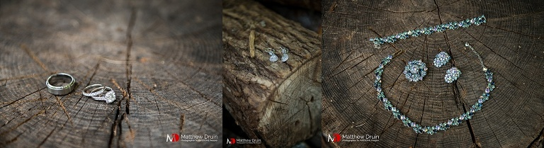 Bride wedding jewelry at destination North Carolina wedding from North Carolina wedding photographers Matthew Druin + Co.