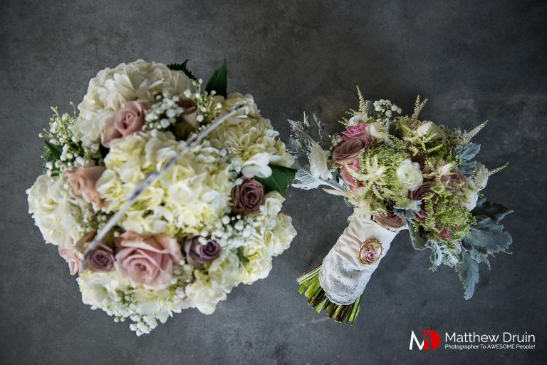 Bride's wedding bouquet at Venue 92 in Atlanta Georgia from Atlanta wedding photographers Matthew Druin & Co.