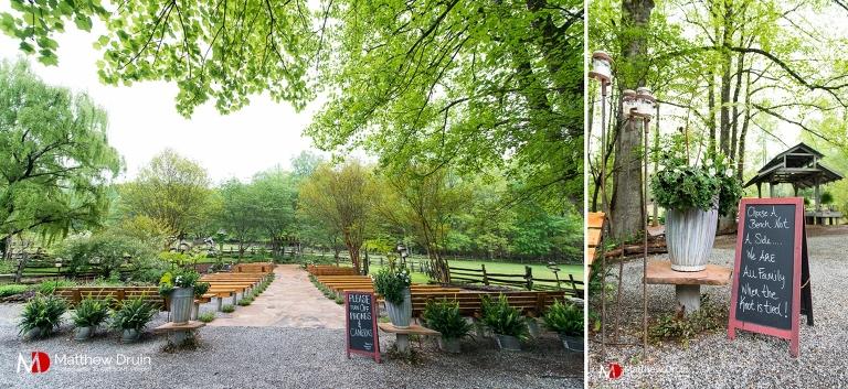Neverland farms ceremony site