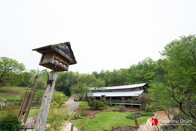 Neverland farms barn reception