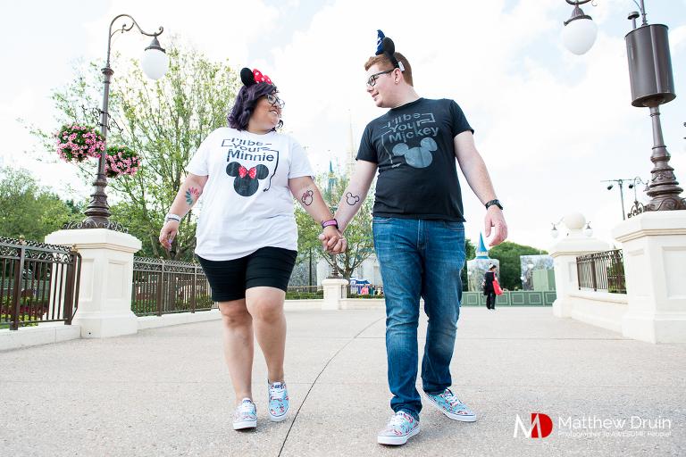 A destination Walt Disney World engagement session from Atlanta wedding photographers Matthew Druin + Co.
