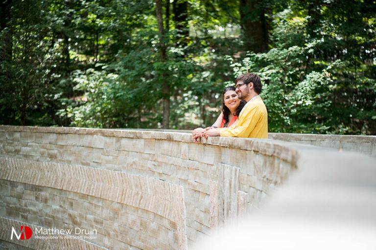 Game of Thrones cosplay Atlanta engagement session at Botanical Gardens from Atlanta wedding photographers Matthew Druin + Co.