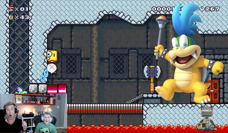 YouTube Gaming MaseBotTV Super Mario Maker 2